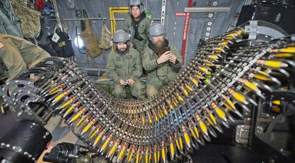 AC-130H Spectre, AC-130U Spooky & AC-130W Stinger II In Action