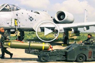 "Air force CBU 105 cluster bomb ""One ONE BOMB that can KILLS 40 TANKS"""