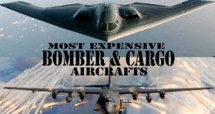 TOP 10 Most Expensive Bomber and cargo (Transport ) Aircraft