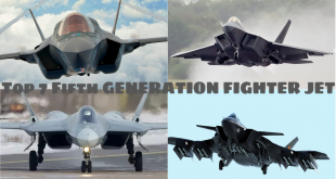 Top 7 FIFTH GENERATION FIGHTER JET (2018)