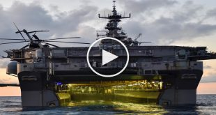 USS Nimitz Class Aircraft Carrier -2nd largest in the world 2