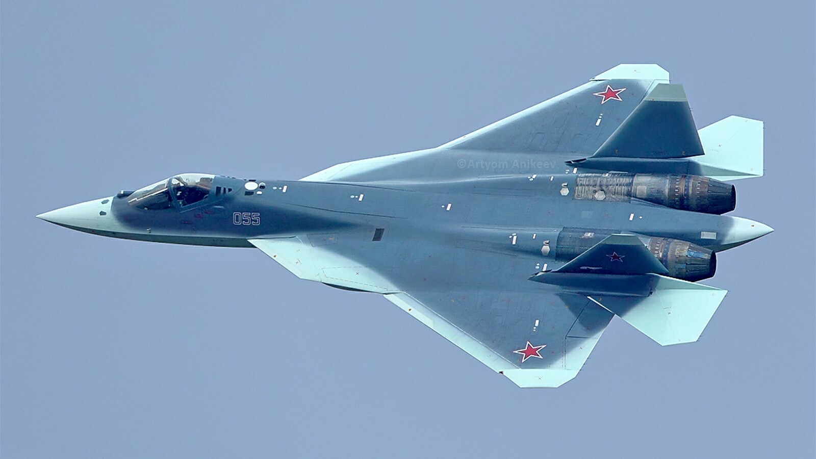 Russia's New Sukhoi Su-57 Stealth Fighter Jet Crashes During Testing