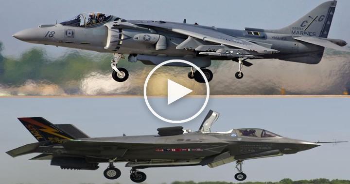 Lockheed Martin F-35 Lightning II vs McDonnell Douglas AV-8B Harrier 2