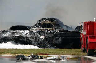 B-2 Bomber Crash at Andersen Air Force Base - Waste of 2 billion dollars