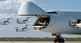 C-5 Galaxy Largest Military Transport Aircraft Used The US Air Force
