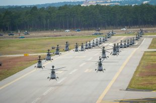U.S. Army breaks World Record for Largest Aircraft Formation