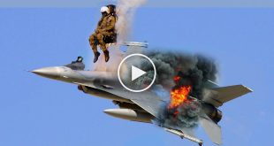 Pilots Eject From Fighter Jets at Last Moment a