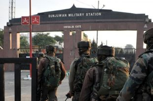 Indian army Camp attacked 2 Soldiers Killed, 9 Injured