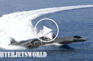 F-35B vs AV-8B Harrier II Short Takeoff & Vertical Landing