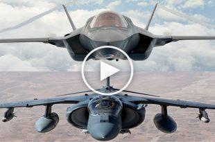 Lockheed Martin F-35 Lightning II vs McDonnell Douglas AV-8B Harrier II