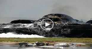 B-2 Bomber Crash at Andersen Air Force Base - Waste of 2 billion dollars