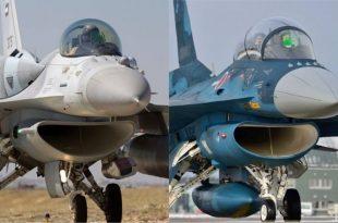 F-16 Fighting Falcon vs Mitsubishi F-2