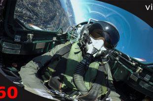 360° cockpit view video of Aero L-29 Viper Jet doing a 25 minute aerobatics flight