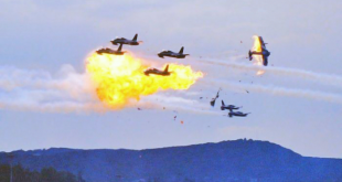 Footages of Frecce Tricolori fighter jets crashed in 1988 Ramstein airshow disaster! 70 deaths and 346 serious injuries