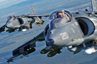 Video of Tense Aerial Battle b/w Harriers & Skyhawks during Falklands War