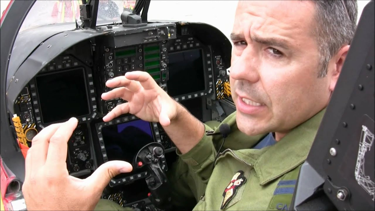 Flight Lesson in a CF-18: Learn How To Fly A Hornet Fighter Jet