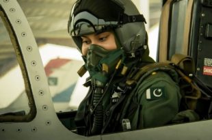 Marium Mukhtiar Shaheed-Pakistan First Female Fighter pilot Died in F-7 Crash 1