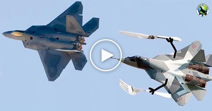 Lockheed Martin F-22 Raptor VS Sukhoi Su-57