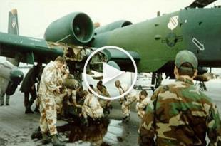 Crazy Pilot Landed A-10 after plane hit by Missile