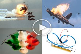 Ramstein air show disaster ! 70 deaths and 346 serious injuries