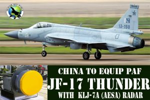 China to equip PAF JF-17 Thunder Fighter Jets with KLJ-7A