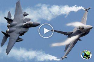 F-16 vs F-15 dogfight Archives | Fighter Jets World
