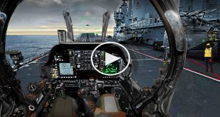 F-18 VR 360º Super Hornet launch from the USS Harry S. Truman