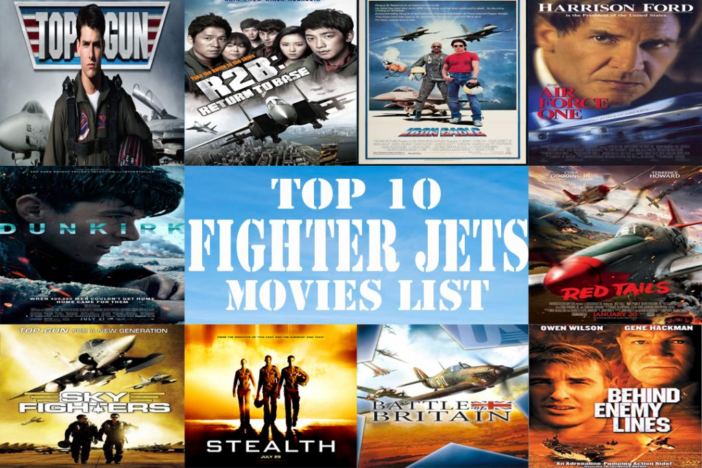 Top 10 Fighter Jets movies List
