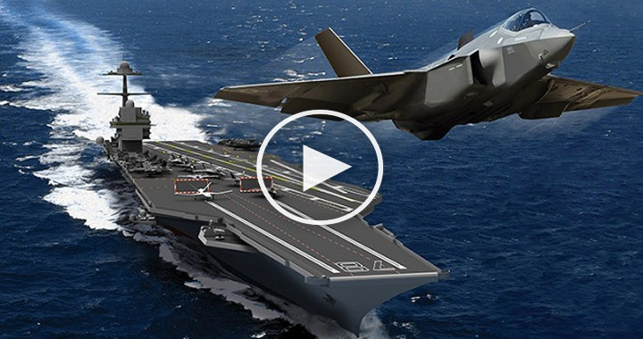 The Largest Aircraft Carrier in The World2