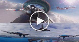 Swifts & Russian Knights in Action