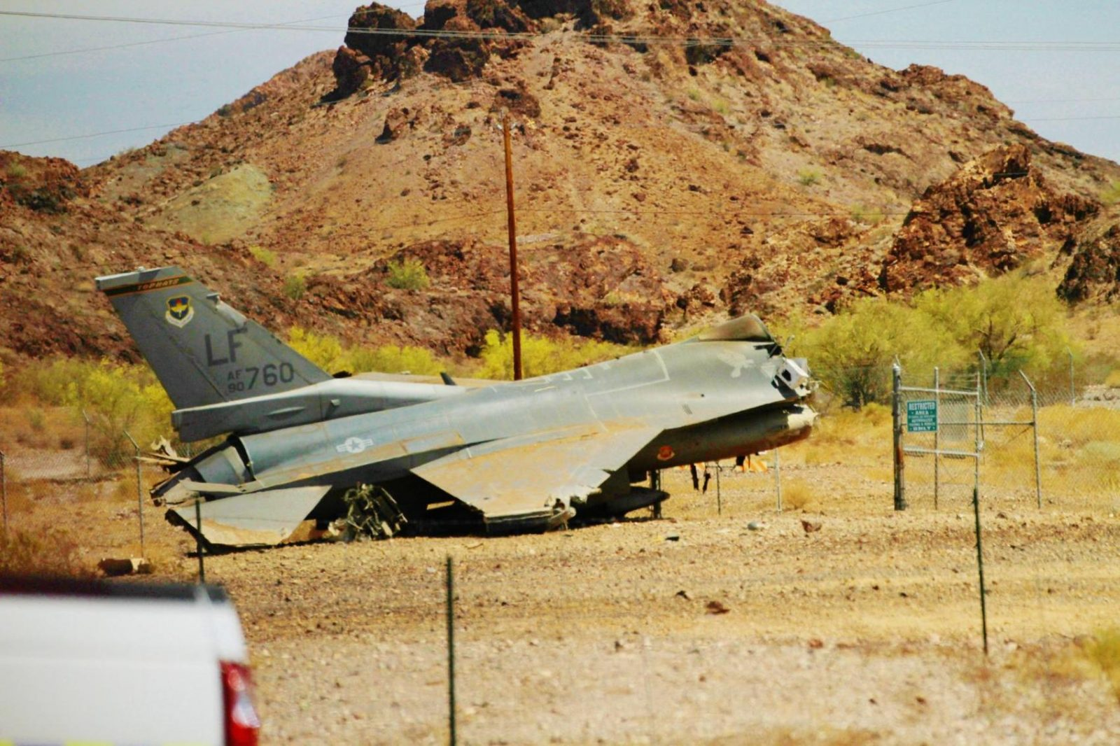 Pilot dies after military contract aircraft crashes in