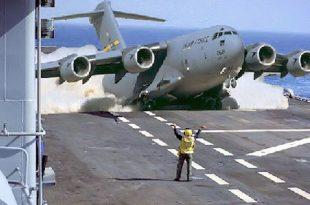 Boeing C-17 Globemaster III amazing Takeoff & Landing