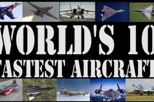List of Top 10 Fastest Military Aircraft in the world