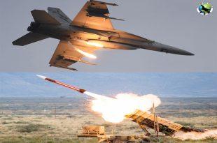 U.S. Navy F/A-18 was shot down by a U.S. Army PAC-3 Patriot missile1