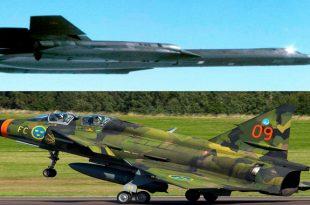 When a Saab 37 Viggen PILOT were able to achieve RADAR LOCK on SR-71 Blackbird