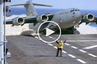 Boeing C-17 Globemaster III amazing Takeoff & Landing 1
