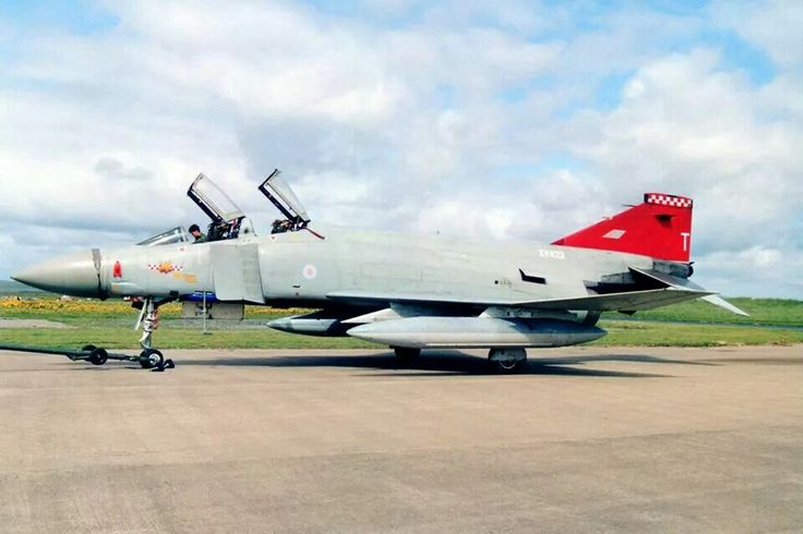 When RAF Phantom shot down a RAF Jaguar