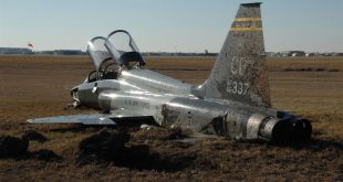 U.S. Air Force T-38C Talon II training jet crashes in Mississippi