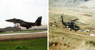 When two USAF F-15s shot down two U.S. Army UH-60 Black Hawk helicopters, 26 Died