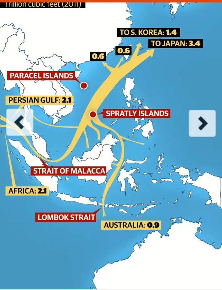 Paracel Islands claimed by China1
