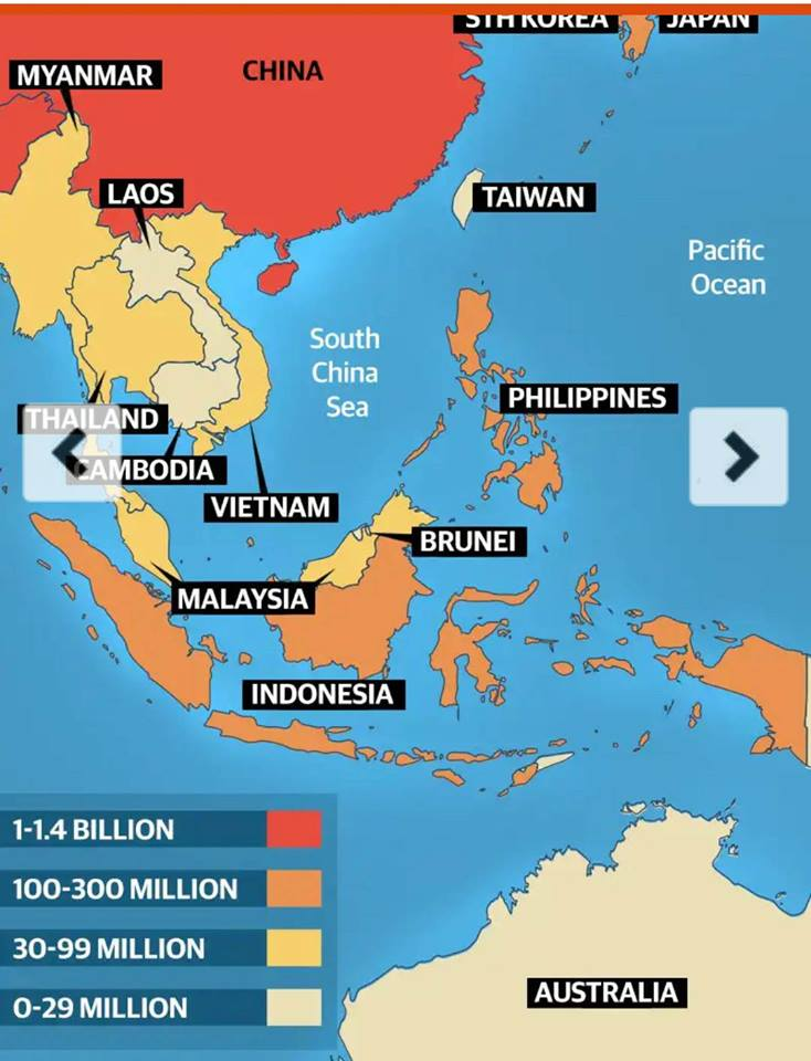 Paracel Islands claimed by China