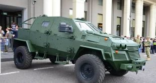 STC Delta's New Armoured Multi-role vehicle.