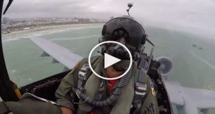 A-10 Warthog Cockpit Video on Miami Memorial Day Air Show