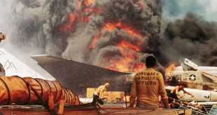 When Fire on the Flight Deck of USS Forrestal killed 134 sailors