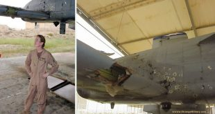A-10 Women Pilot Successfully landed back a damaged A-10 Warthog