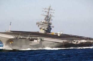 Aircraft carrier high speed maneuvering for extreme rudder tests videos