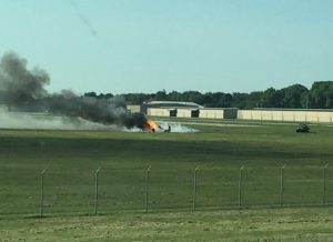 Beechcraft Bonanza P35crash at Millard Airport