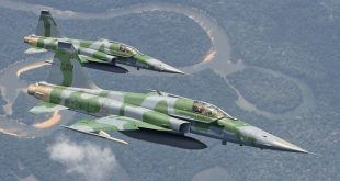 Brazilian Air Force F-5 fighter crashed near Rio de Janeiro