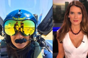 Christina-Pascucci-KTLA-reporter-Passes-Out-in-Blue-Angels Jet