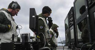 U.S. Navy Landed F-18 Hornet Fighter Jet on Aircraft Carrier Via Remote Control